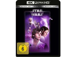 Star Wars Eine neue Hoffnung 4K Ultra HD Blu ray 2D Bonus Blu ray