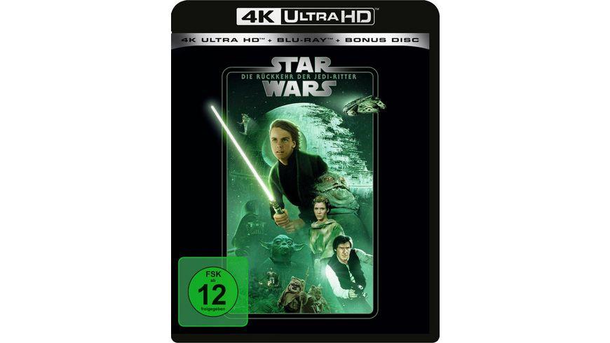 Star Wars - Die Rückkehr der Jedi-Ritter  (4K Ultra HD) (+ Blu-ray 2D) (+ Bonus-Blu-ray)