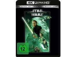 Star Wars Die Rueckkehr der Jedi Ritter 4K Ultra HD Blu ray 2D Bonus Blu ray