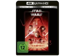 Star Wars Episode VIII Die letzten Jedi Line Look 2020 4K Ultra HD Blu ray 2D Bonus Blu ray