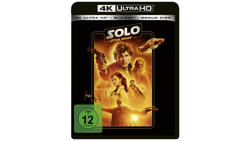 Solo A Star Wars Story Line Look 2020 4K Ultra HD Blu ray Bonus Blu ray