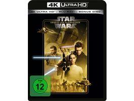 Star Wars Episode 2 Angriff der Klonkrieger 4K Ultra HD Blu ray 2D Bonus Blu ray
