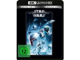 Star Wars Das Imperium schlaegt zurueck 4K Ultra HD Blu ray 2D Bonus Blu ray