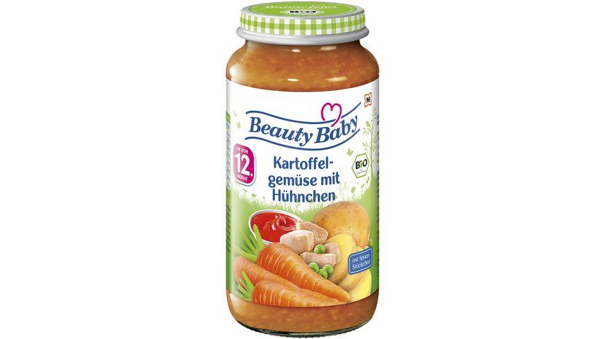 Beauty Baby Babygläschen Brei Kartoffelgemüse mit Hühnchen