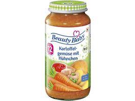 Beauty Baby Babyglaeschen Brei Kartoffelgemuese mit Huehnchen