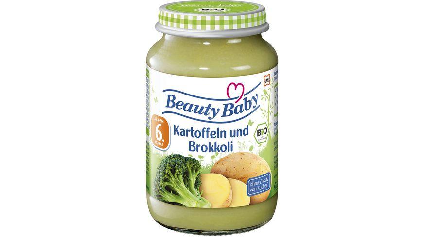 Beauty Baby Babygläschen Brei Kartoffeln und Brokkoli