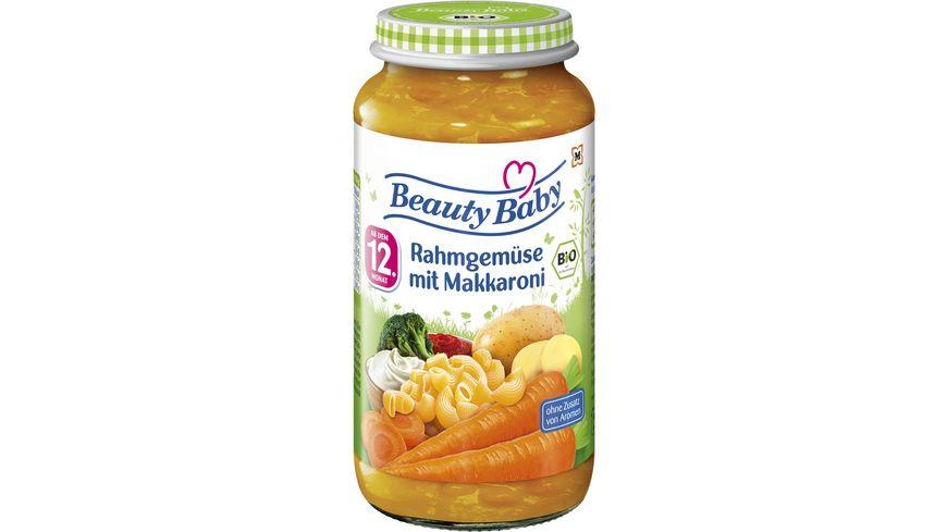 Beauty Baby Babygläschen Brei Rahmgemüse mit Makkaroni