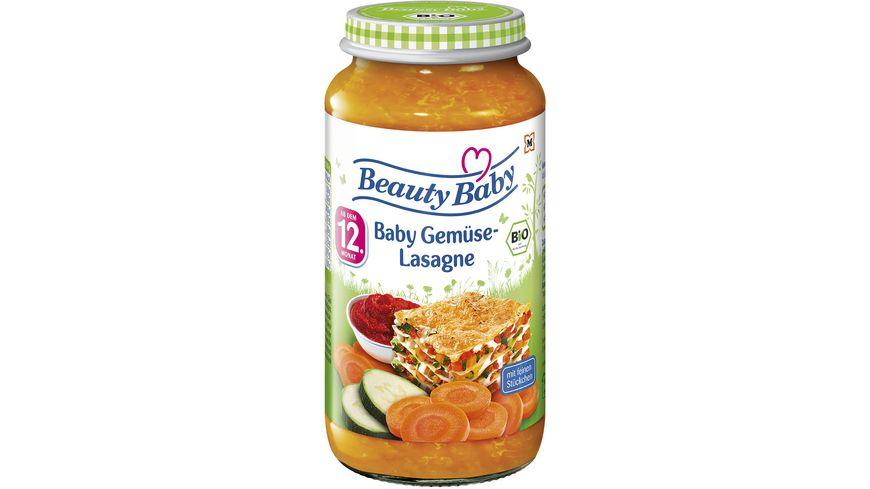 Beauty Baby Babygläschen Brei Gemüse-Lasagne