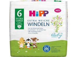 HiPP Babysanft Windeln Extra Large 6 15kg Groesse 98 26 St