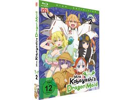 Miss Kobayashi s Dragon Maid Vol 2