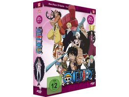 One Piece TV Serie Box 23 Episoden 688 715 4 DVDs