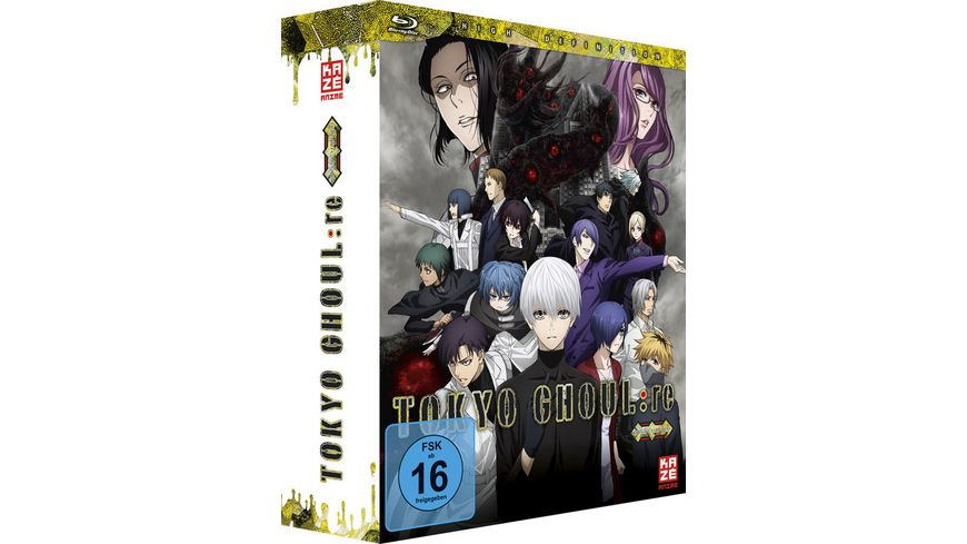 Tokyo Ghoul re 3 Staffel Blu ray Vol 5 Sammelschuber Limited Edition
