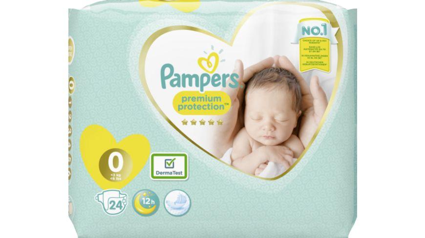 Pampers Windeln Premium Protection Größe 0, <3kg
