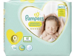 Pampers Windeln Premium Protection Groesse 0 3kg
