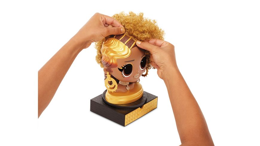 L O L SURPRISE O M G Styling Head Royal Bee