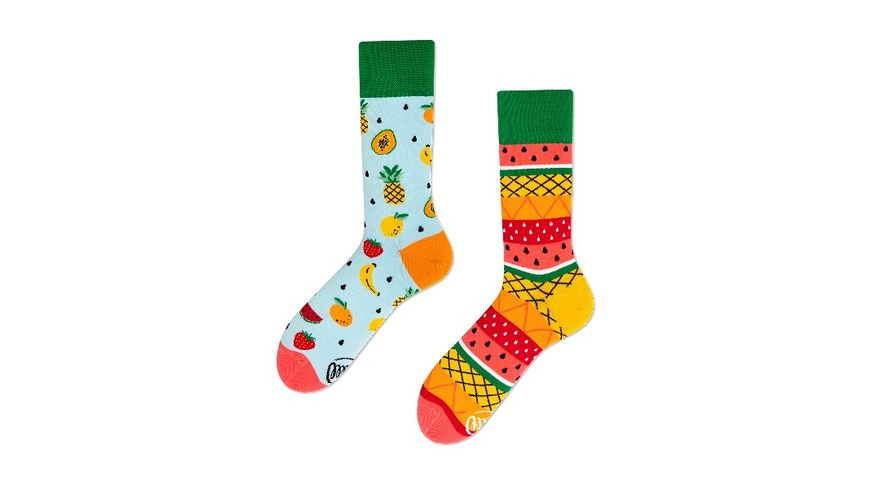 MANY MORNINGS Unisex Socken Tutti Frutti Regular 1 Paar