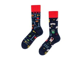 MANY MORNINGS Unisex Socken Game Over Regular 1 Paar