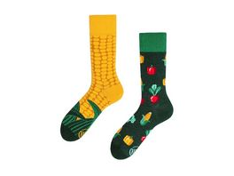 MANY MORNINGS Unisex Socken Veggie Mix Regular 1 Paar