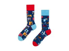 MANY MORNINGS Unisex Socken The Traveler Regular 1 Paar