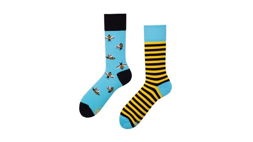 MANY MORNINGS Unisex Socken Bee Bee Regular