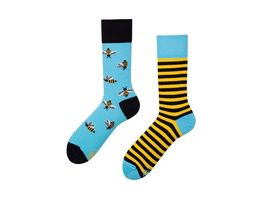 MANY MORNINGS Unisex Socken Bee Bee Regular 1 Paar