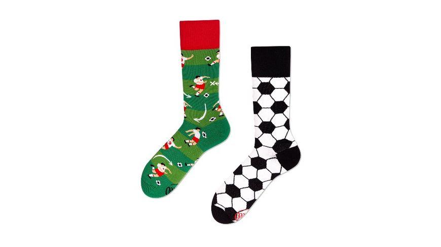 MANY MORNINGS Unisex Socken Football Fan Regular