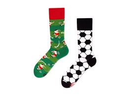 MANY MORNINGS Unisex Socken Football Fan
