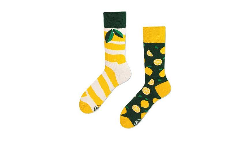 MANY MORNINGS Unisex Socken The Lemons Regular 1 Paar
