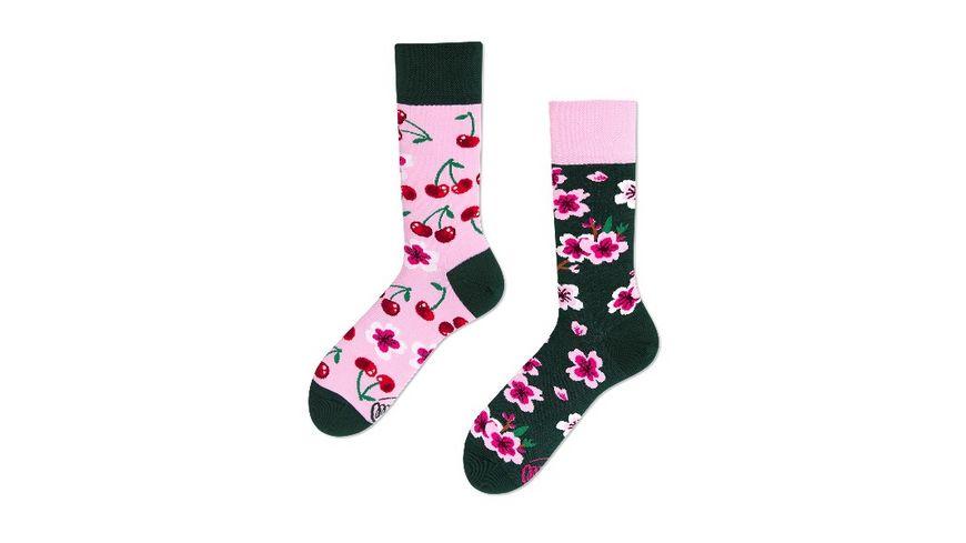 MANY MORNINGS Unisex Socken Cherry Blossom