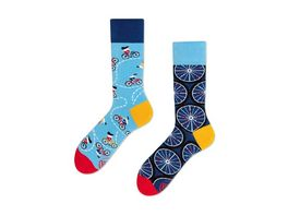 MANY MORNINGS Unisex Socken The Bicycle Regular 1 Paar