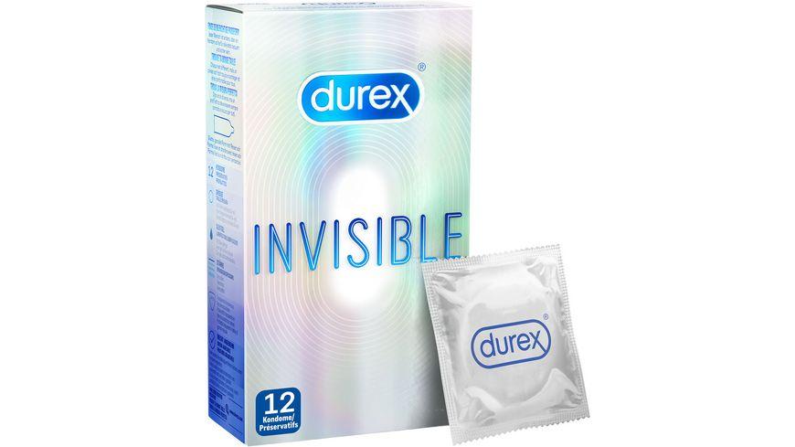 Durex Invisible Kondome