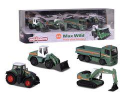 Majorette Max Wild 4 pcs Giftpack