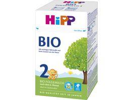 HiPP Milchnahrung Bio 600g 2 x 300 g HiPP 2 Bio Folgemilch nach dem 6 Monat