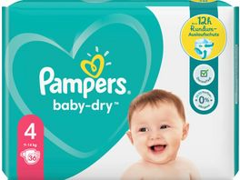 Pampers Windeln Baby Dry Groesse 4 9 14kg