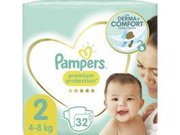 Pampers PREMIUM PROTECTION NEW BABY Windeln Gr 2 Tragepack Sortenreines SRP