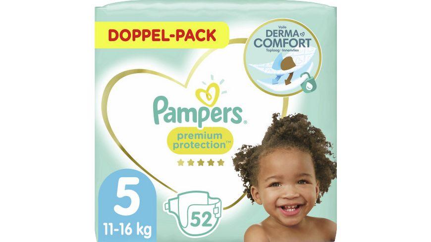 Pampers PREMIUM PROTECTION Windeln Gr.5 Junior 11-16kg Doppelpack 52ST