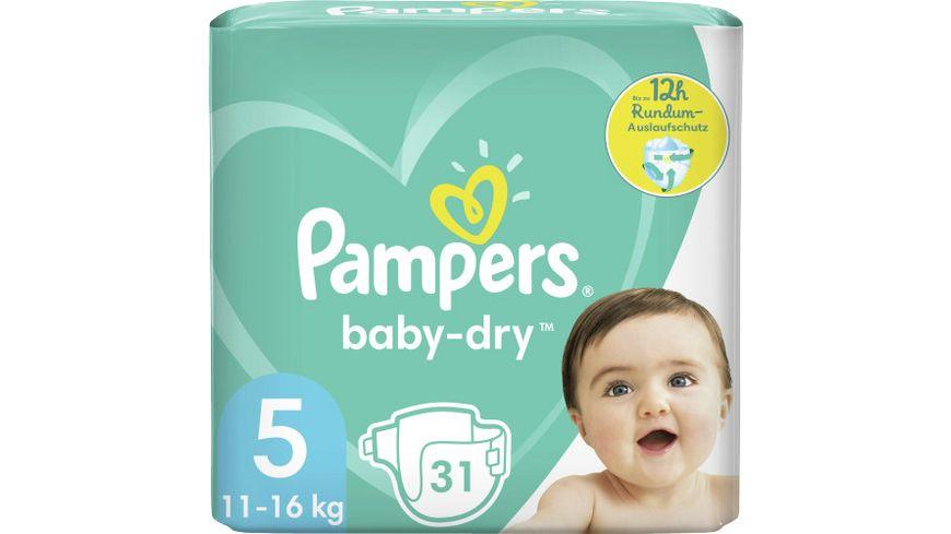 Pampers BABY DRY Windeln Gr.5 Junior 11-16kg Einzelpack 31ST
