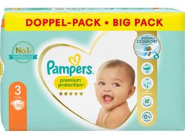 Pampers Premium Protection Groesse 3 6 10kg Doppelpack