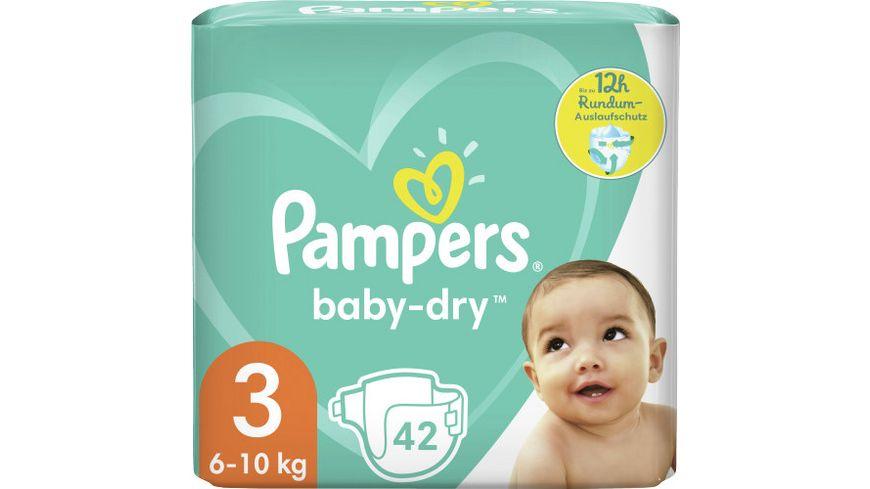 Pampers BABY DRY Windeln Gr.3 Midi 6-10kg Einzelpack 42ST