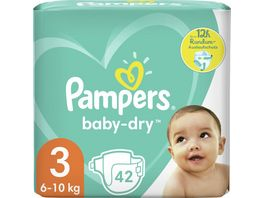 Pampers Windeln Baby Dry Groesse 3 6 10kg
