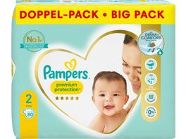 Pampers Premium Protection Groesse 2 4 8kg Doppelpack