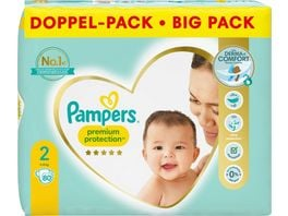 Pampers Premium Protection New Baby Groesse 2 Mini 4 8kg Doppelpack
