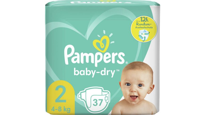 Pampers Baby Dry Groesse 2 4 8kg Tragepack