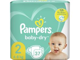Pampers Windeln Baby Dry Groesse 2 4 8kg Tragepack
