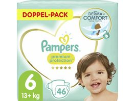 Pampers Windeln Premium Protection Groesse 6 13 18kg Doppelpack