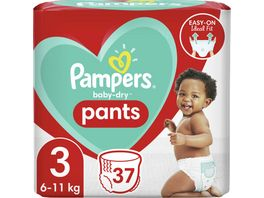 Pampers BABY DRY PANTS Windeln Gr 3 Midi 6 11kg Einzelpack 37ST