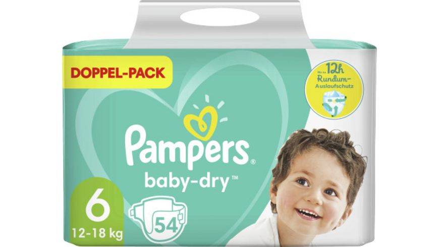 Pampers BABY DRY Windeln Gr.6 Extra Large 13-18kg Doppelpack