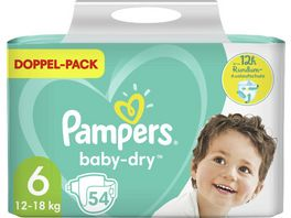 Pampers Windeln Baby Dry Groesse 6 13 18kg Doppelpack