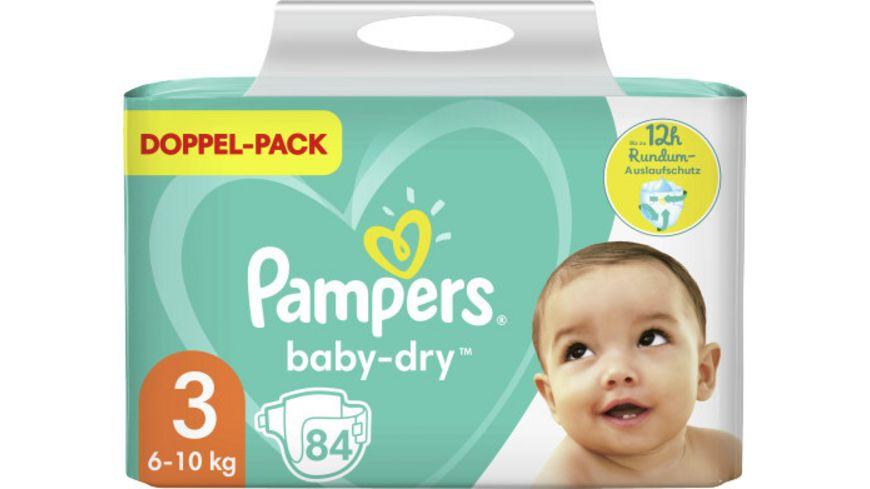 Pampers Baby Dry Größe 3, 6-10kg Doppelpack