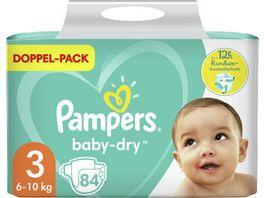 Pampers Windeln Baby Dry Groesse 3 6 10kg Doppelpack